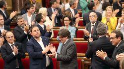 Los independentistas intentan aprobuar durante la madrugada la ley de transitoriedad y la sindicatura