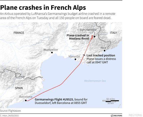 Lo que se sabe hasta ahora del accidente de avión de