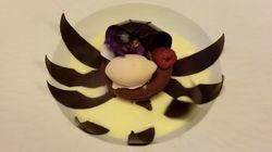 Mira cómo este postre de chocolate florece ante tus ojos