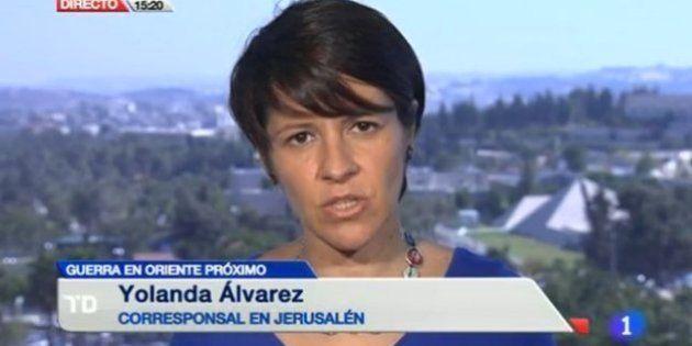 TVE no renueva a Yolanda Álvarez, su corresponsal en Jerusalén a la que Israel acusó de apoyar a