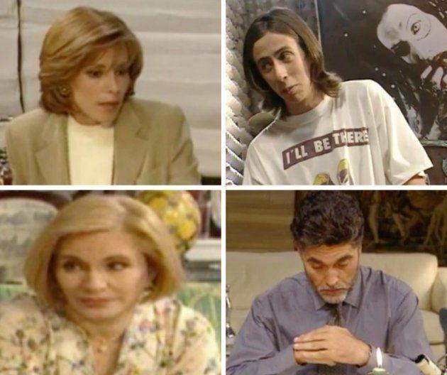 De izq. a dcha. de arriba a abajo: Pilar Velázquez, Luis Montes, Cecilia Villarreal y Fernando Rodríguez