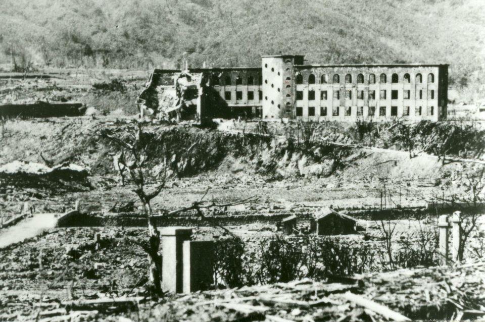 70 años de los bombardeos de Hiroshima y Nagasaki (FOTOS ANTES Y