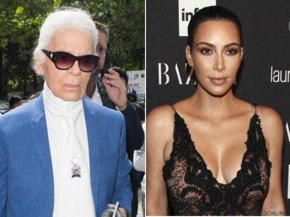 Karl Lagerfeld juzga a Kim Kardashian tras el robo que sufrió en