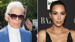 Tras el robo de sus joyas en París, Karl Lagerfeld critica a Kim