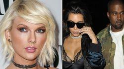 Taylor Swift, de nuevo en pie de guerra contra Kim Kardashian y Kanye