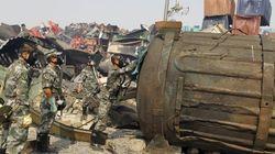 China empieza a investigar la explosión... pero cierra 50 webs