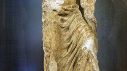 Hallan una escultura centenaria en las obras de la Catedral de