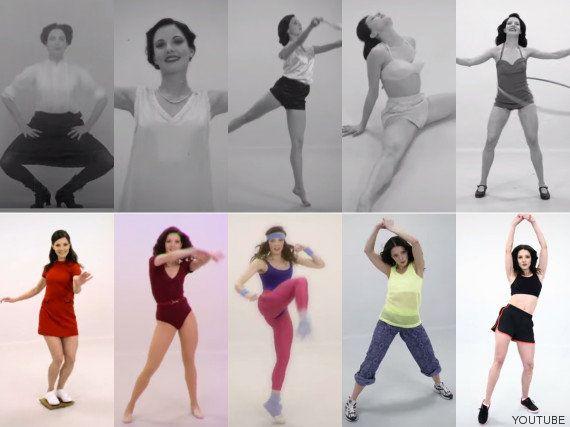 Cien años de 'fitness' en cien segundos
