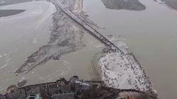 El time-lapse de la 'marea del siglo' que te dejará boquiabierto