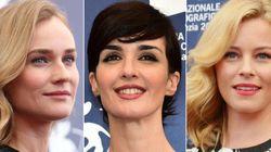 Tres actrices y un 'photocall': ¿separadas al