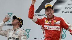 Ferrari vuelve a ganar gracias a Vettel y Alonso abandona en