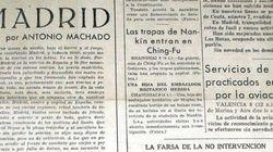 La columna inédita de Antonio Machado en 'El