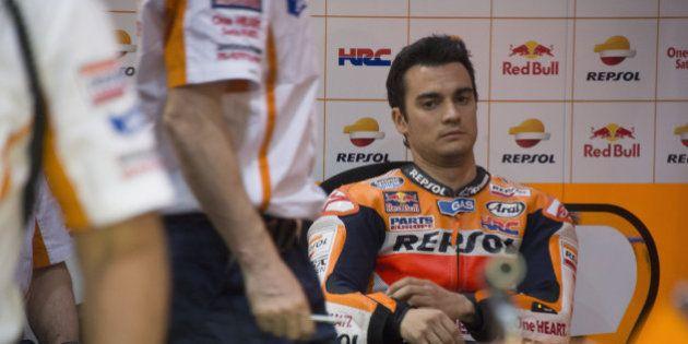 Pedrosa anuncia que deja la moto hasta recuperarse de su lesión en el