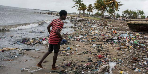 Huracán Irma: una escena de destrucción, en Anguila, mi