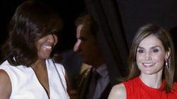 Michelle Obama y la reina Letizia, juntas en favor de la escolarización de las