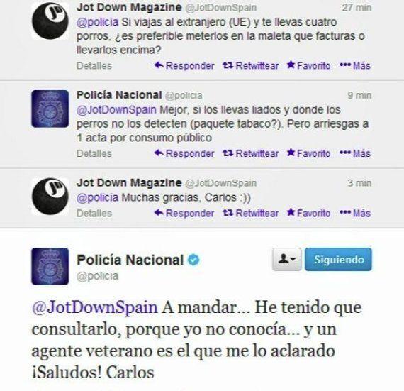 @policia en Twitter: 11 razones por las que tienen 1,5 millones de 'followers' (y sus mejores 51