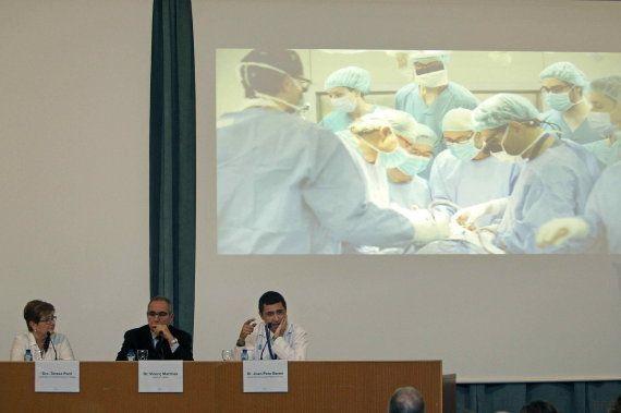 El Vall d'Hebron realiza el segundo trasplante de cara de su