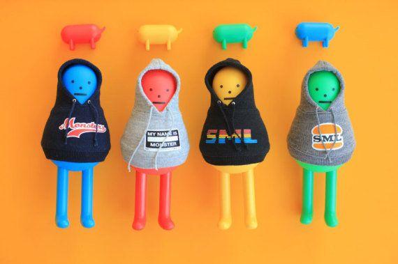 Cinco formas de Toy Art, diseño coleccionable en forma de