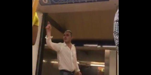 Detenido el nazi del Metro de Madrid que acosó a una pareja de