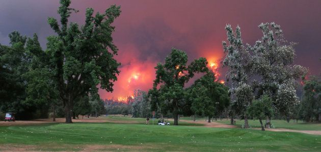 El Beacon Rock Golf Course en North Bonneville, Washington,
