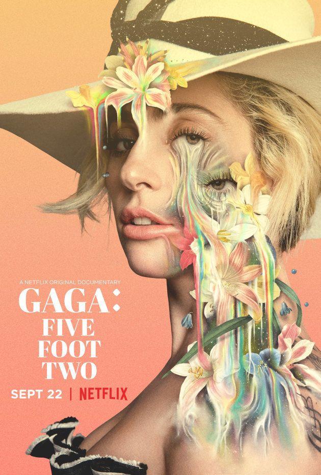 El cartel del documental de Netflix 'Gaga: Five Foot