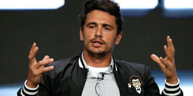 James Franco en una conferencia de prensa sobre 'The Deuce' en California, el 26 de julio de