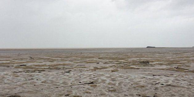 El huracán Irma ha 'chupado' el mar en Bahamas y ha secado las