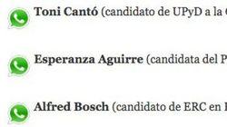 La lista de contactos políticos en