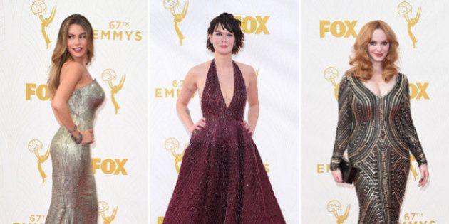 Emmy 2015: todos los vestidos de la alfombra roja