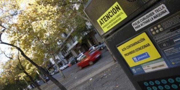 Madrid prohíbe el aparcamiento a los no residentes por la