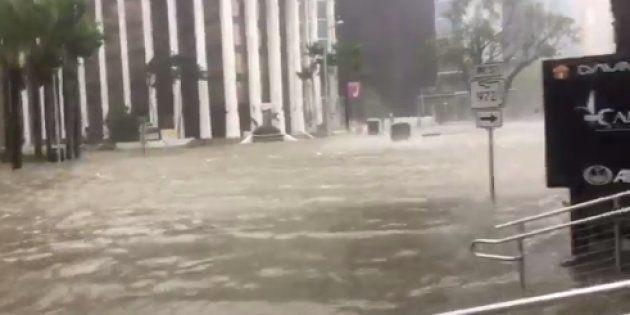 12 vídeos del huracán Irma que te pondrán los pelos de