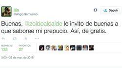 Sí, el alcalde de Sevilla contestó a este mensaje en