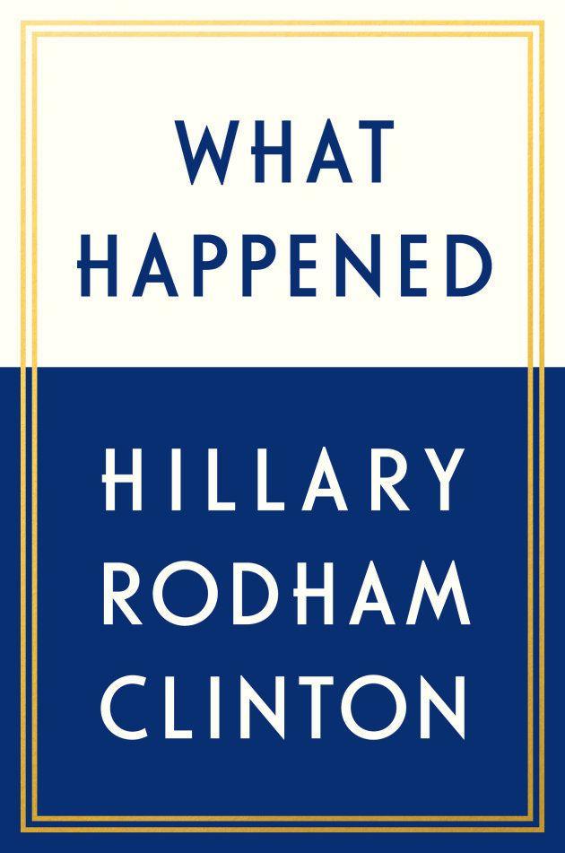 Portada de 'What Happened', el nuevo libro de Hillary