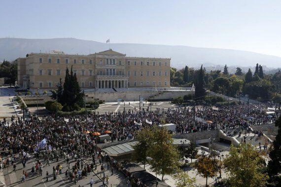 La primera huelga bajo el Gobierno de Syriza pone rostro al descontento en