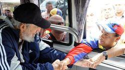 Fidel Castro reaparece en público 14 meses