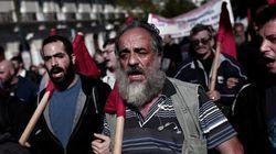 La primera huelga bajo el Gobierno de Syriza pone rostro al