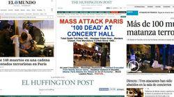 Así han recogido los atentados los medios de todo el