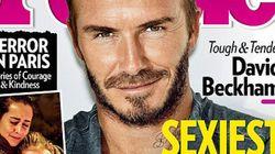 David Beckham es el hombre más sexy de 2015, según 'People'