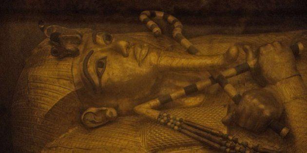 Un análisis en la tumba de Tutankamón determina que hay