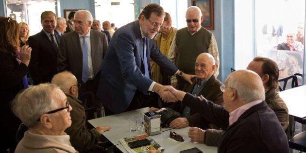 Rajoy promete eliminar el IRPF a los mayores de 65 años que sigan