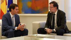 Rajoy y Rivera acuerdan iniciar conversaciones para buscar la
