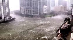 El huracán Irma va dejando a Florida bajo el agua del