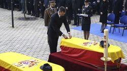 Funeral por los dos policías asesinados en