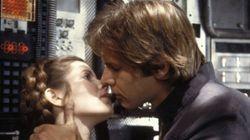 Carrie Fisher mantuvo una relación con Harrison Ford durante el rodaje de 'Star