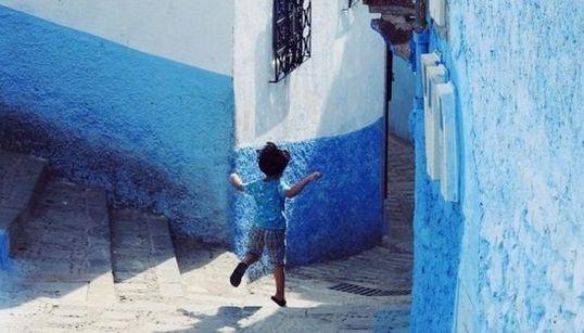 Las calles de Marruecos, una explosión de vida y color