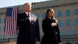 Donald Trump conmemora el 16º aniversario de los atentados del
