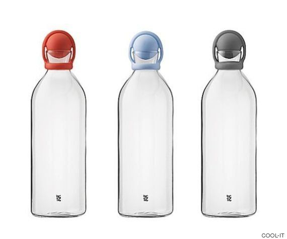 Botellas de agua de diseño para no malgastar