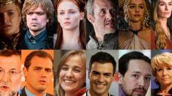 #JuegodeEscaños: la versión española de ''Juego de Tronos' que arrasa en