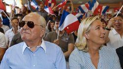 La ruptura entre Jean-Marie y Marine Le Pen,