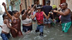 Pasada la tensión de Irma, los cubanos se desquitaron con humor y